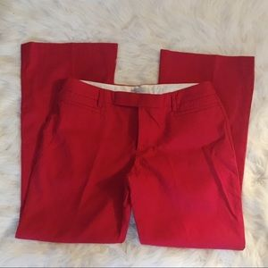 Gap Modern Boot Cut Red Pants